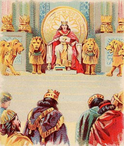 King Solomon, the original 1%