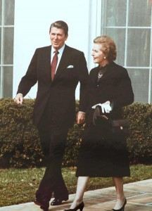 Ronald Reagan & Margaret Thatcher