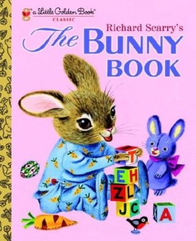 The Bunny Book, Richard Scarry, Little Golden Book