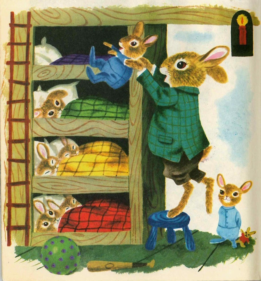 Bunny Book, Richard Scarry