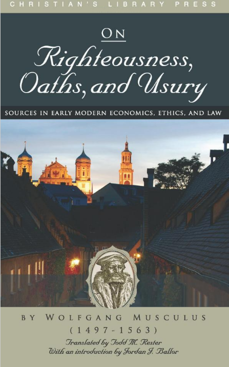 Wolfgang Musculus, usury, oaths