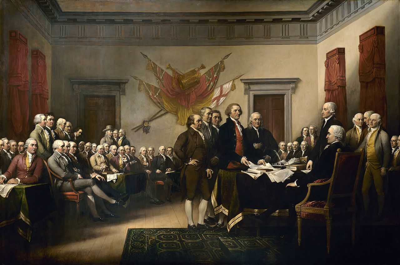 pathos in the declaration of independence