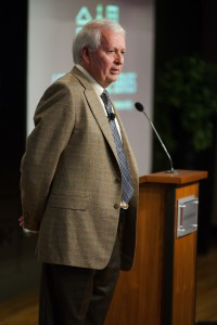 Dr. Gerard Lameiro speaks at the 2014 Acton Lecture Series