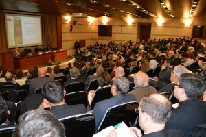 Opinion leaders and academics filled the Pontifical University of the Holy Cross's Aula Magna on Dec. 3