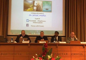 "Conference Panel for ""In Dialogue With Laudato Si'"", December 3, 2015"