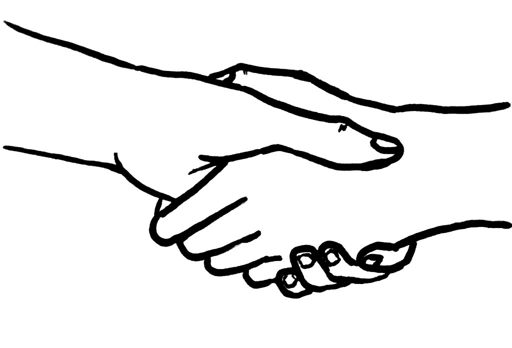 """Handshake"" by Aidan Jones is licensed under CC BY-SA 2.0"