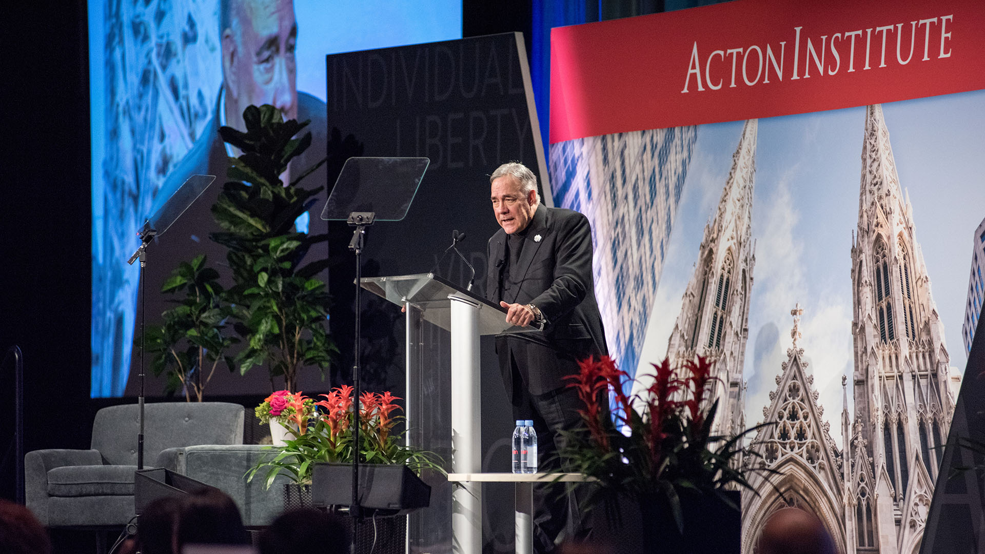 Rev. Robert A. Sirico at AU 2019