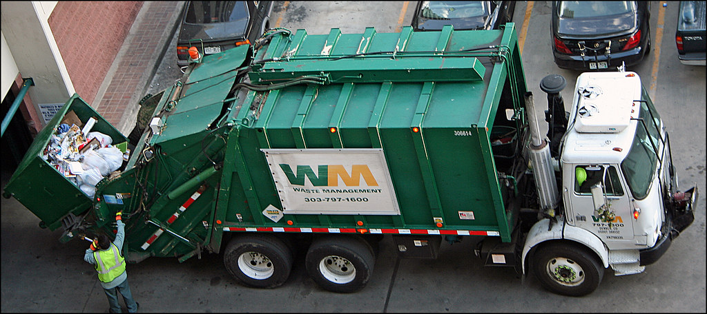 """Garbage Truck"" by Jeffrey Beall is licensed under CC BY-ND 2.0"